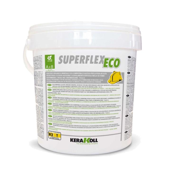 Полиуретановый клей Kerakoll Superflex Eco (Кераколл Суперфлекс Эко) Белый 8кг