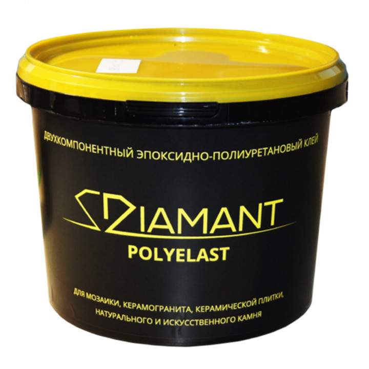 Клей Diamant Полиэласт (эпоксидно-полиуретановый) 3 кг