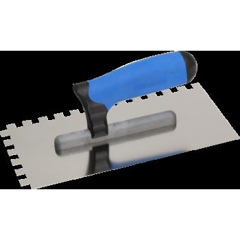 Нержавеющая тёрка 130x270 мм, зубчатая 10x10 мм, ручка G-11